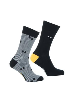 Lot de 2 paires de chaussettes Enigma