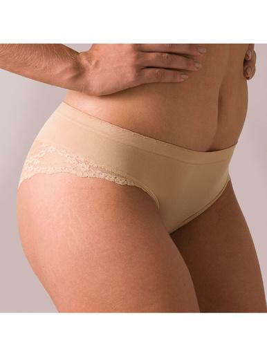 Slip Invisible Cocoon - Athéna - Marron/beige