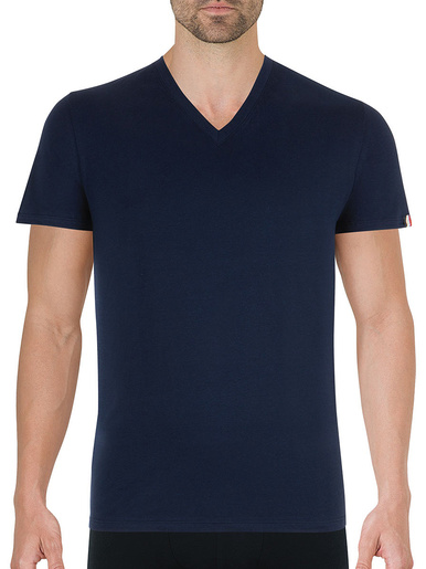 Tee-shirt col V Fait en France - Eminence - Marine