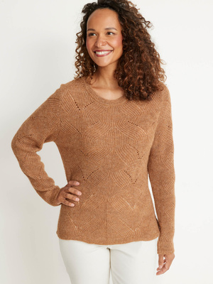 Pull en maille recyclée