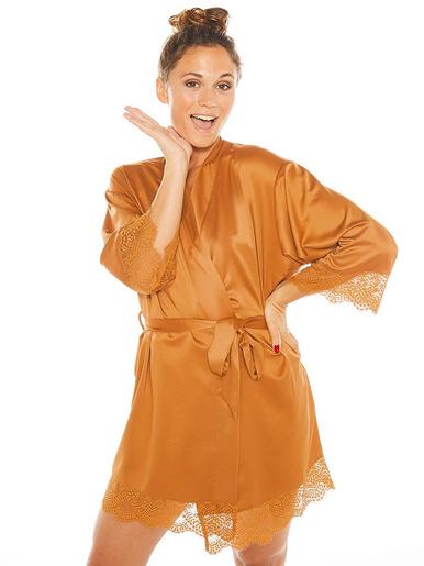 Kimono EFFRONTEE - Pommpoire - Moutarde