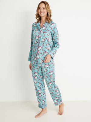 Pyjama satiné intérieur doux