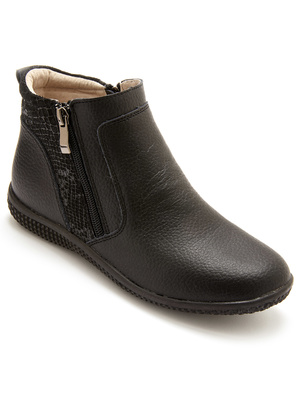 Boots double zip aérosemelle® amovible