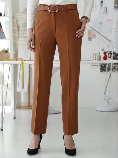 Pantalon 7/8ème large - Balsamik - Marron