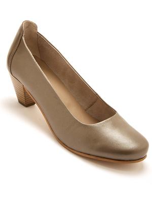 Décolletés cuir largeur confort