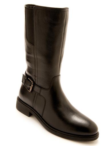 Bottes zippées à boucle réglable - Pédiconfort - Noir