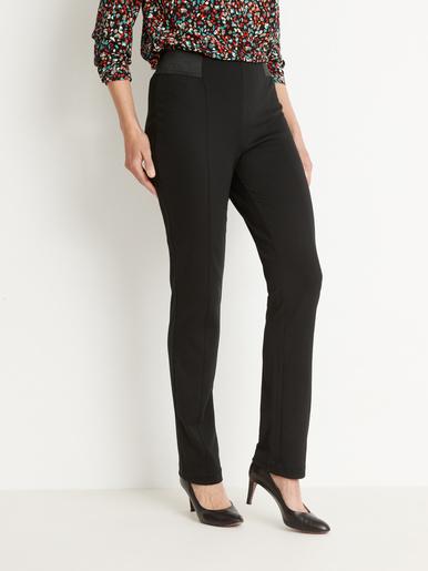 Pantalon effet ventre plat maille milano - Kocoon - Noir