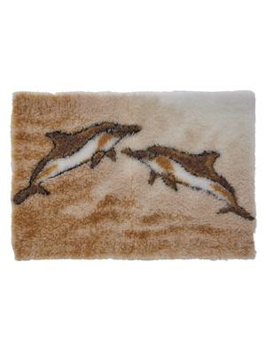 Tapis de bain dauphins