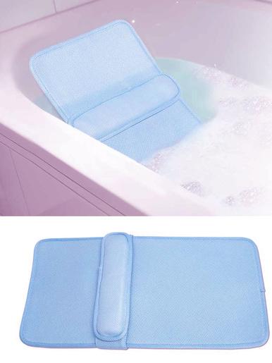 Coussin lombaire pour baignoire -  - Bleu