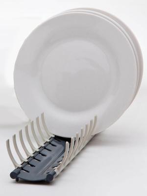 Egouttoir pour assiettes compact