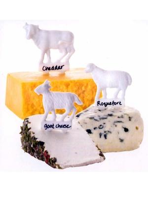 Lot de 6 marques fromage