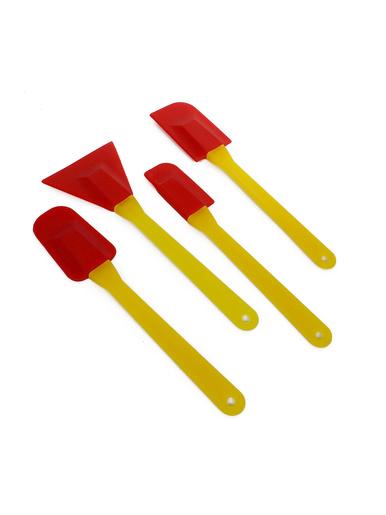 Lot de 4 spatules silicone