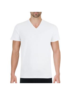 T-Shirt col V homme Bio