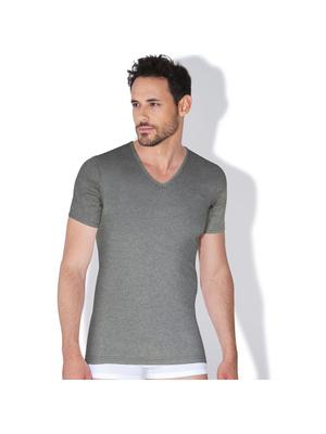 Tee-shirt col V homme Coton Bio