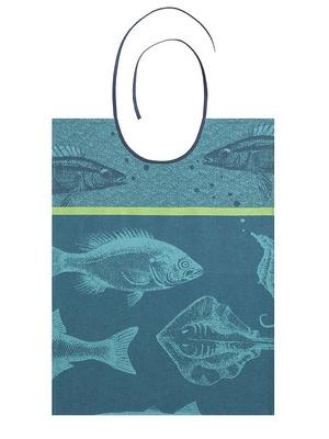 Bavoir banc de poissons
