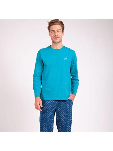 Pyjama court col rond Globe-Trotteur