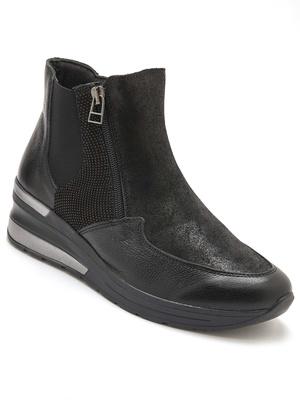 Boots large ouverture semelle amovible