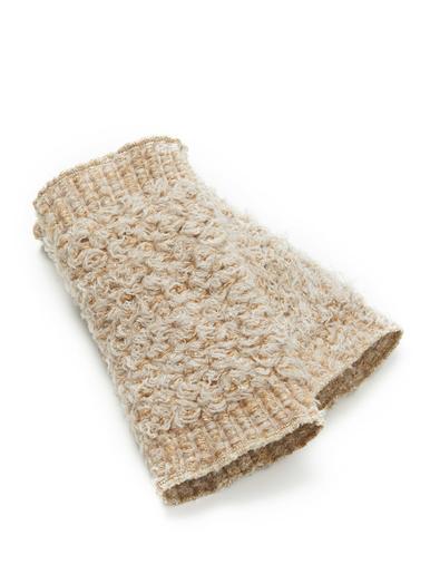 Mitaines avec laine et mohair - Balsamik - Beige