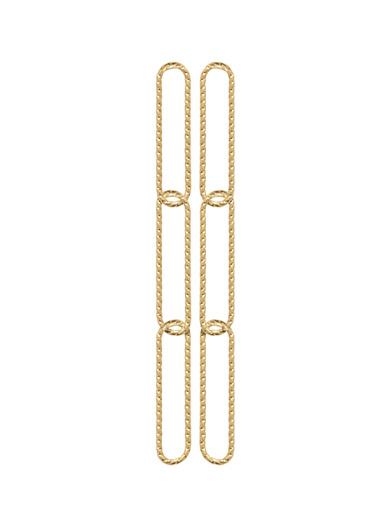 Boucles d'oreilles pendantes plaqué or - Balsamik - Plaque or