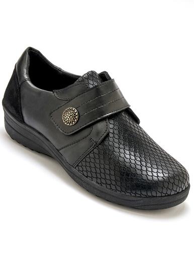 Derbies spécial pieds sensibles - Pédiconfort - Noir