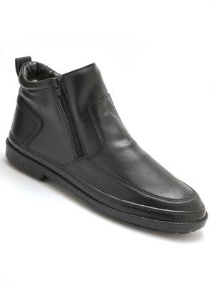 Boots 2 zips fourrées ultra souples