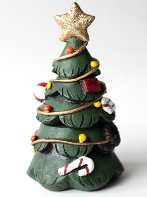 Boite cadeaux décorée modèle sapin