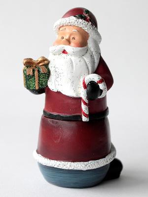 Boite cadeaux décorée modèle père noël